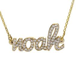 name necklace gold 14k two name necklace layered name necklace diamond name