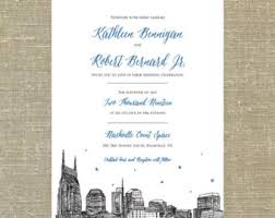 wedding invitations johnson city tn boston skyline destination wedding invitation suite sample