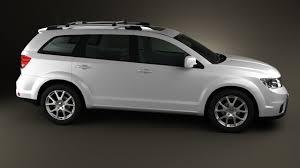 Dodge Journey Black - 360 view of dodge journey 2011 3d model hum3d store