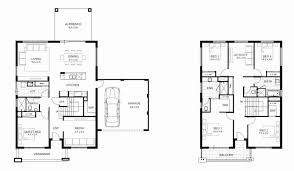 single story 4 bedroom house plans two story house plans lovely 4 bedroom floor 2 design single