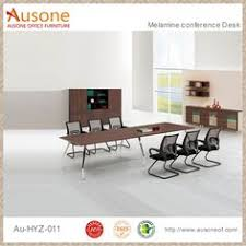 Keswick Conference Table Modern Large Conference Table For Company Regular Meeting Photo