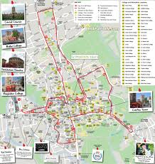 Double Map Oxford Map Hop On Hop Off Double Decker City Sightseeing Open