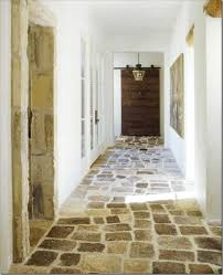 although of a rustic texture stone and rock can add dimension to
