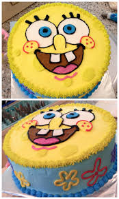 sponge bob cakes sponge bob cake spongebobcake nikijoycakes buttercream