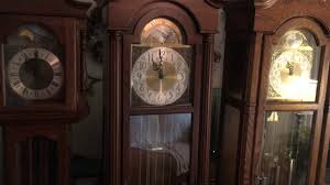 Ridgeway Grandfather Clock Ebay Rays Grandfather Clocks Youtube