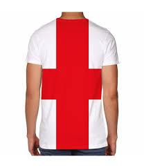 Flag White With Red Cross Men U0027s St George George U0027s Cross England Flag Shirt