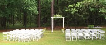 Tallahassee Wedding Venues Lake Iamonia Lodge Wedding Ceremony Tallahassee