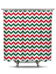 Green Chevron Shower Curtain And Green Chevron Shower Curtain Shower Curtains