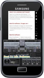 best dj app for android best dj mix software 1 0 apk android audio apps