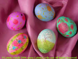 blown easter eggs c knotes