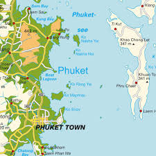 Phuket Map Map Thailand Thailand Maps And Directions At Map