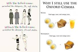 Oxford Comma Meme - should you use the oxford comma