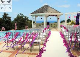 wedding chair bows luxury destination weddings in jamaica wedding chair bows