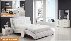 Simple  Modern Bed Design For Your Bedroom Aida Homes Simple - White leather contemporary bedroom furniture