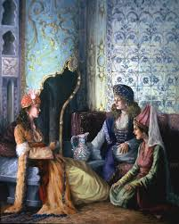 Ottoman Harem Pin By Larissa Serin On Oryantalizm Sanat Tabloları Orientalism