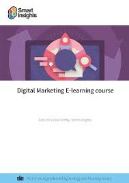 e learning strategy template digital marketing elearning course