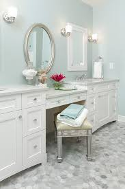 oval bathroom mirrors bathroom traditional with double bathroom
