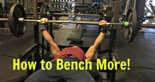 Benching 315 How To Increase The Barbell Bench Press Underdog Strength