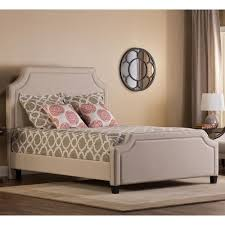 Upholstered Queen Bed Frame by Hillsdale Parker Upholstered Queen Bed Set With Rails Boulevard