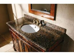Vanity With Granite Countertop Terrific Design Ideas With Granite Bathroom Vanity Countertops