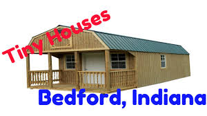 Mini Homes On Wheels For Sale by Tiny Houses In Bedford Indiana Youtube