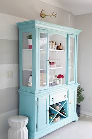 Aqua Dining Room Furniture Contorary Aqua Dining Room Hutch For Your Dining