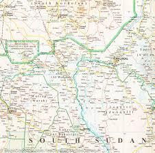 Map Of Sudan Sudan U0026 South Sudan Geographical Map Gizi Map U2013 Mapscompany