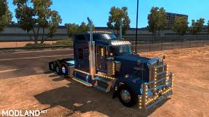 kenworth w900b kenworth w900 bu5ted edition updated 6 28 2017 mod for american