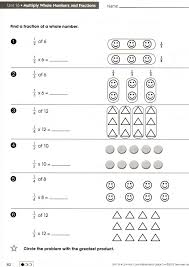 fractions of numbers worksheet free multiplication problems