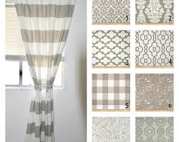 Drapery Panels 96 Striped Curtains Etsy