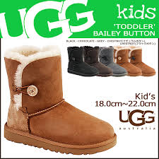 ugg bailey button toddler sale allsports rakuten global market ugg 18cm 22 5cm bailey button