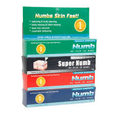 cosmetic tattoo numbing cream 4pcs topical anesthetic cream tattoo numb set tmart