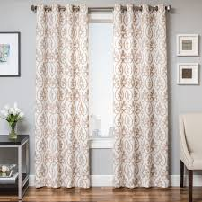 Lined Linen Drapery Panels Softline Home Fashions Drapery Chia Panel