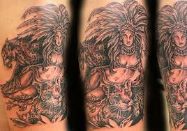 40 phenomenal aztec tattoos creativefan