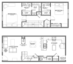 narrow home floor plans neat design small narrow house floor plans 9 25 best ideas about