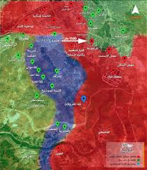 Syria Battle Map by Day Of News On The Map August 04 2016 Map Of Syrian Civil War