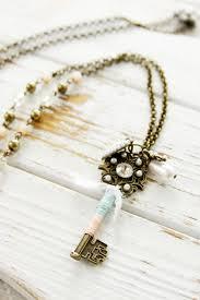 diy necklace set images Easy diy vintage style jewelry set jpg