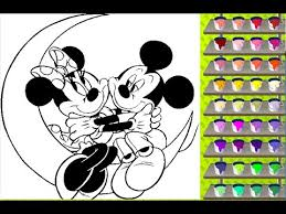 mickey coloring pages free coloring games