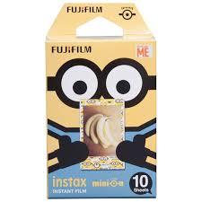 Minion Desk Accessories by Fujifilm Instax Mini Minion Instant Film 10 Pack Instant