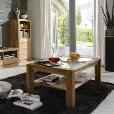 Wohnzimmertisch Eiche Massiv Möbel Glamourös Couchtisch Wildeiche Massiv Geölt Entwurf Ideen