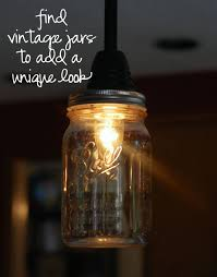 Jar Pendant Light Diy Pendant Light Fixtures From Upcycled Items