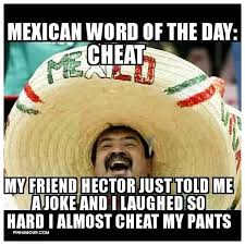 Hector Meme - mexican word of the day cheat my friend hector just told me a