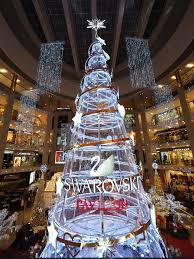 swarovski brings its tallest tree in asia to kuala