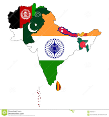 South Asia Blank Map by Image Gallery South Asia