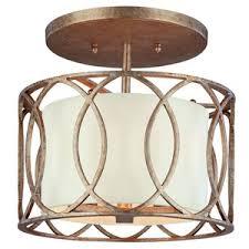 gold flush mount light tc1283sg sausalito semi flush mount ceiling light silver gold at
