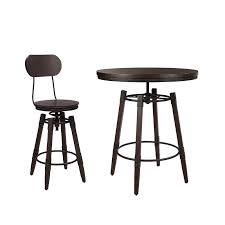 adjustable height bar table industrial adjustable height bar table set bistro and bar table