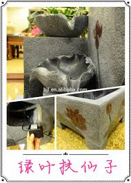 house decoration with led light home garden decoration items water