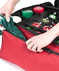 santa s bag 3 tray ornament storage bag tree classics