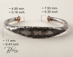 man silver bangle bracelet images Mens torque bangle bracelet solid sterling silver and gold jpg