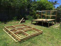 House Project by Cubby House Project U2013 06 Frame Assembly Peter Heydon Personal